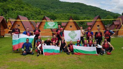 Българи в Босна, рафтинг и преход