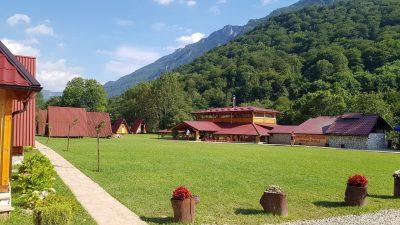 Къмпинга ни в Босна, рафтинг и преход