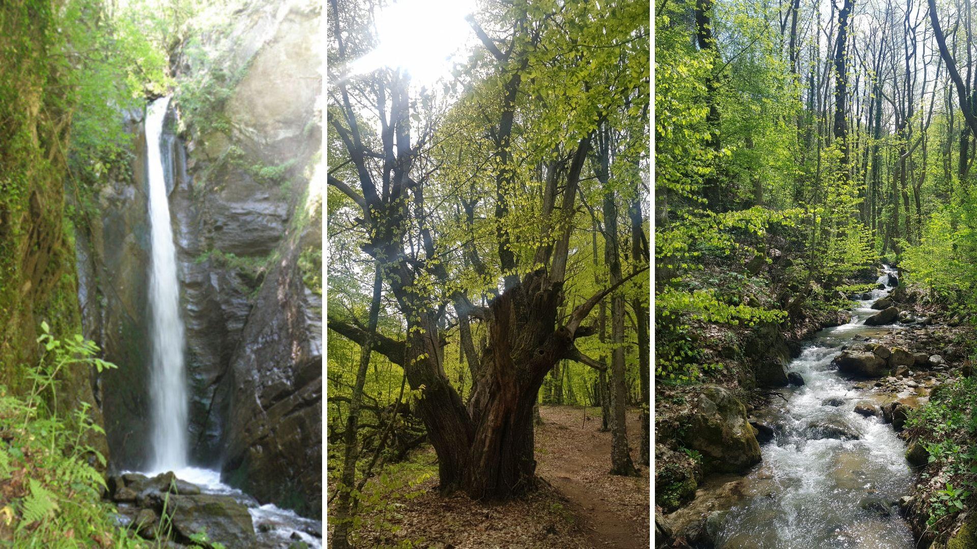 Водопадите на Беласица планина