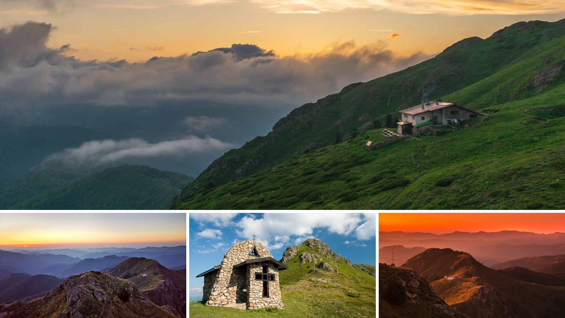 Панорама от хижа Ехо в Стара планина (Централен Балкан)