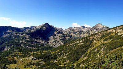 Панорама в Пирин планина