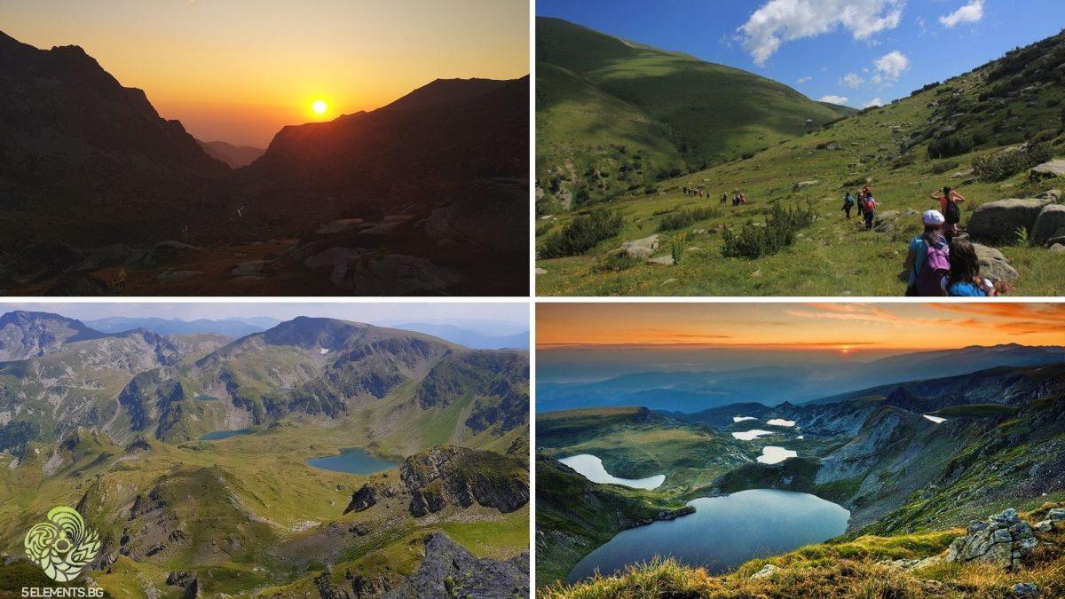 Залез, Урдини езера, Рилски езера и красотата на Рила