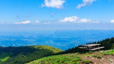 Връх Ком, Стара планина, планниски преход за начинаещи1