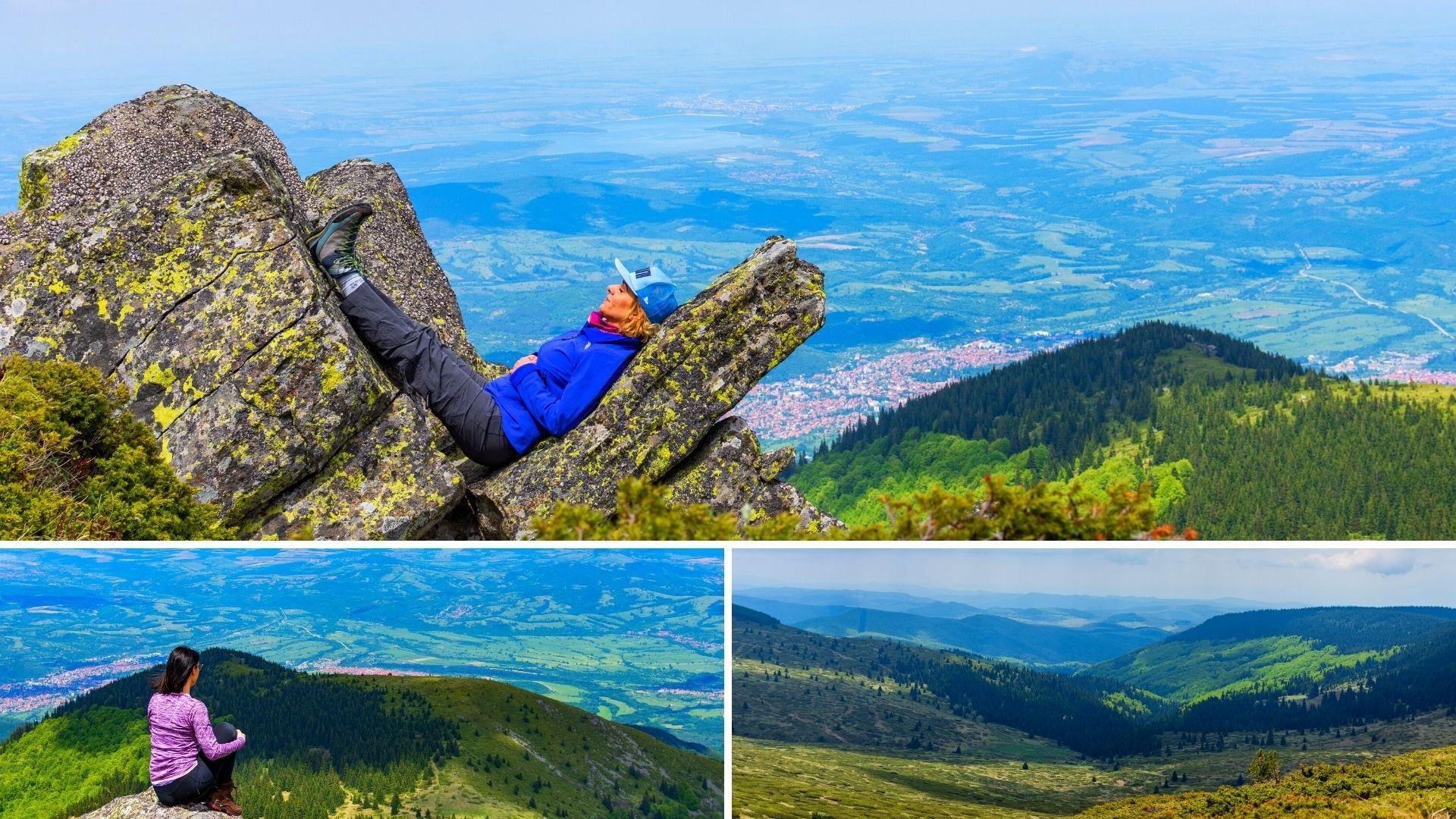 Връх Ком, Стара планина, планниски преход за начинаещи4